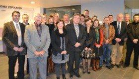 Mise en place du nouveau conseil communal le 3 décembre 2012