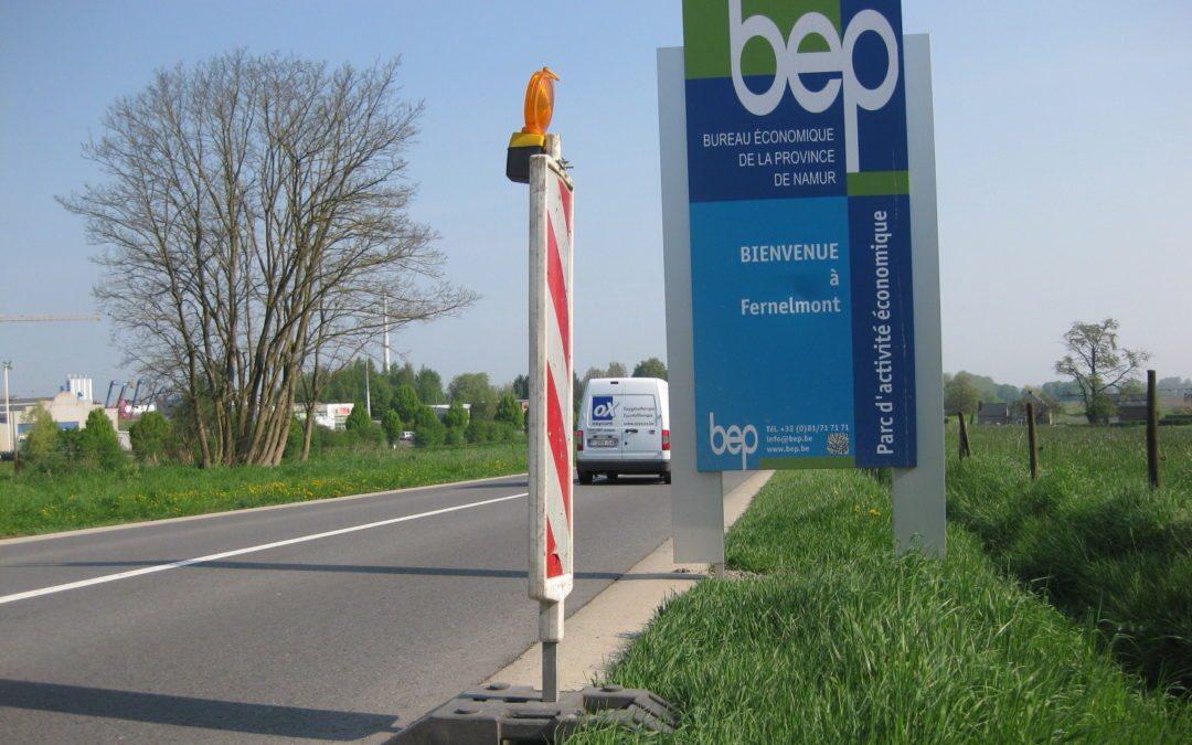 Ca s'en va et ça revient : le BEP investit à Fernelmont (Août 2013)