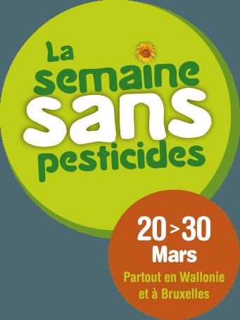 Mars 2015 : Semaine sans pesticides & Journées wallones de l'eau