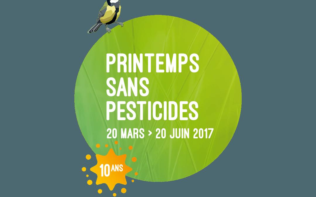 Printemps sans pesticide 2017