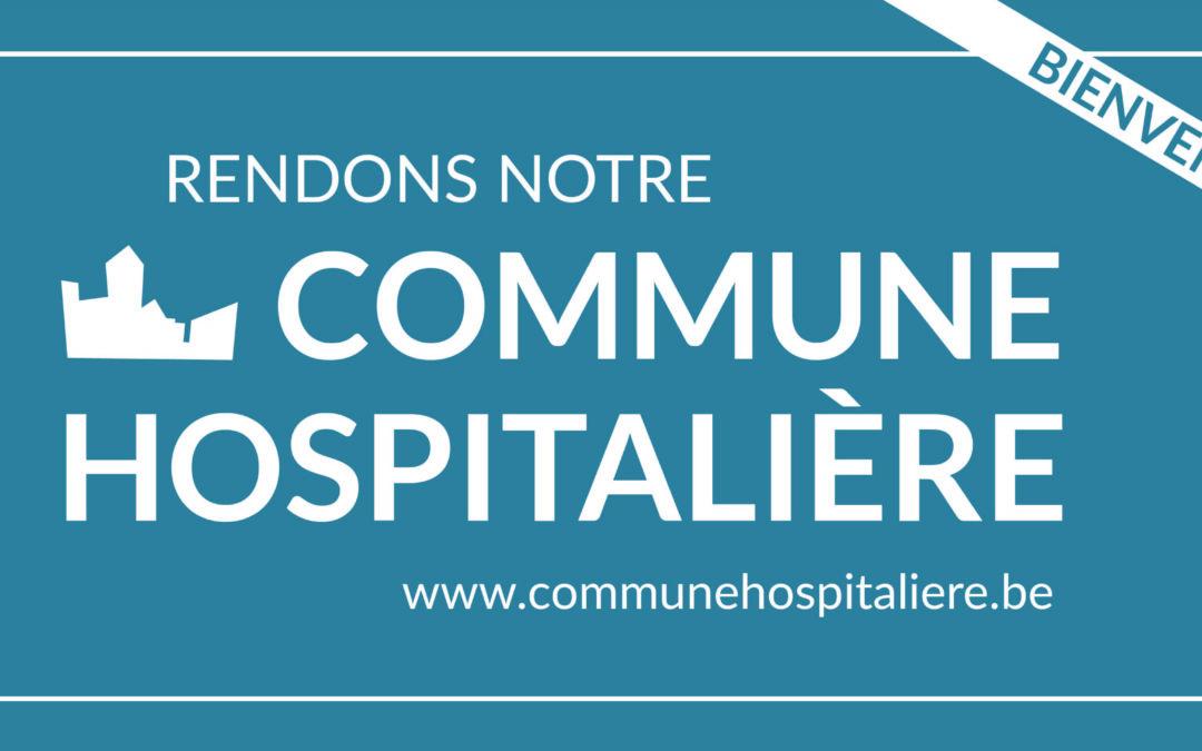 """""""Fernelmont, Commune Hospitalière"""", motion proposée le 24 août 2017"""