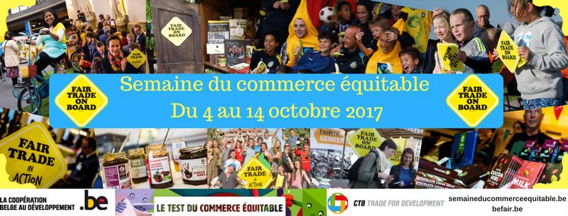 Semaine du commerce équitable du 4 au 14 octobre 2017