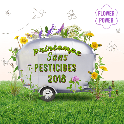 Printemps sans pesticides du 20 mars au 20 juin 2018