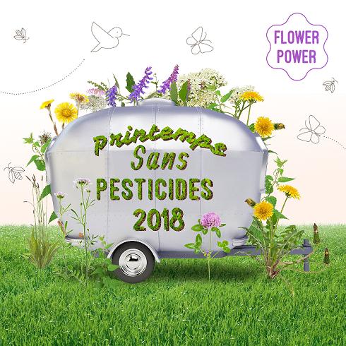 Printemps sans pesticides du 20 mars au 20 juin 2018