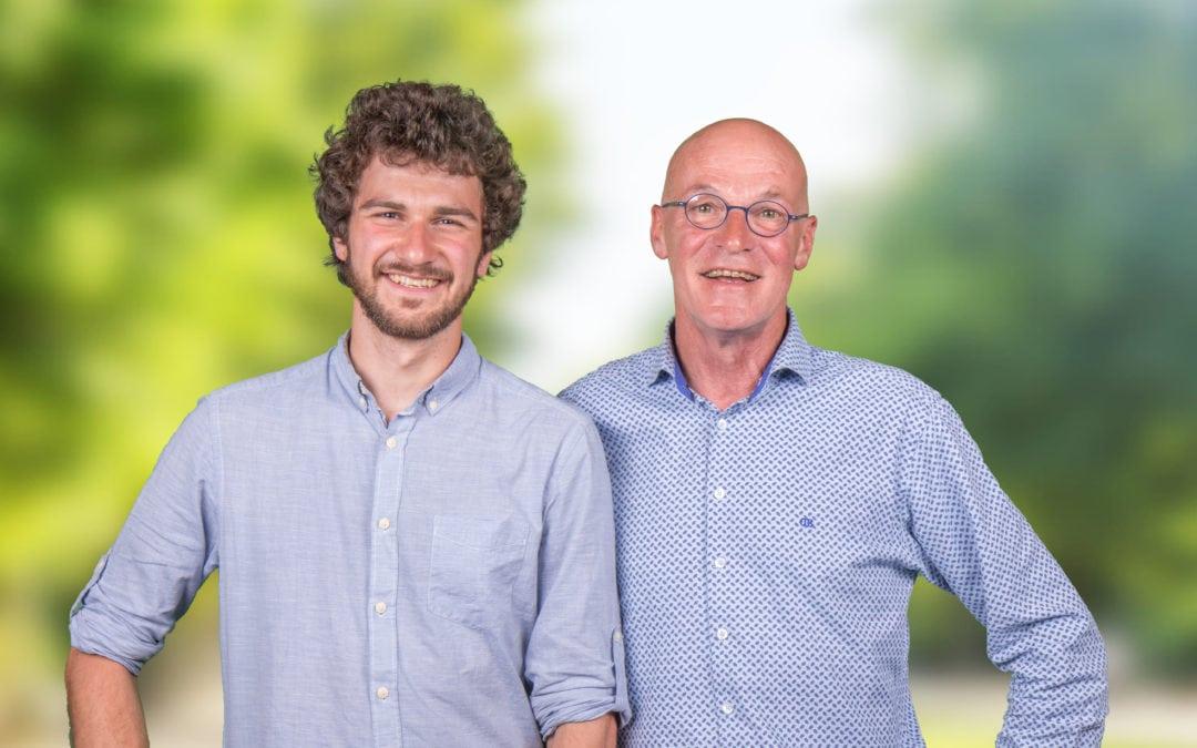 Nos 2 élus : Grégoire Delneuville & Louis Lambert