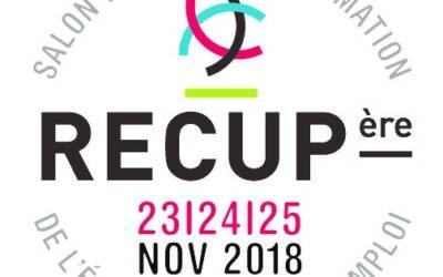 Salon RECUPère du 23 au 25 novembre 2018 à Namur