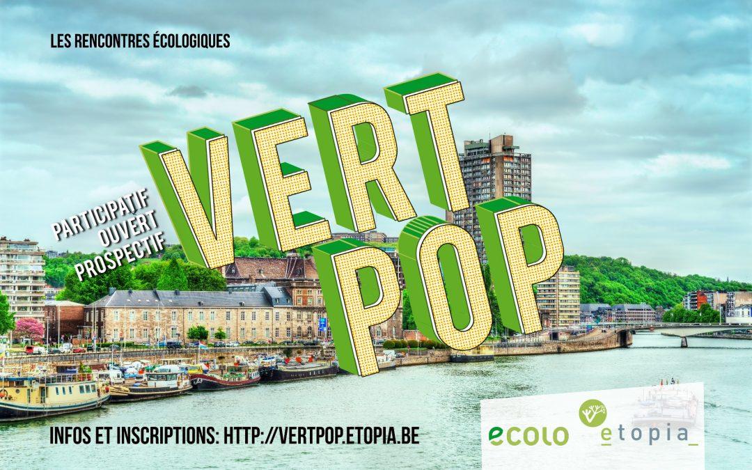 Vert POP,  vendredi 28 et samedi 29 août 2020