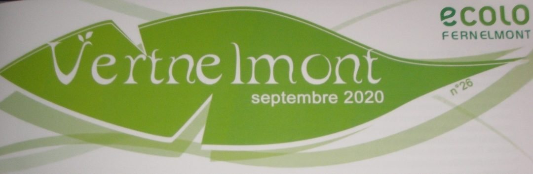 Vertnelmont n° 26 – Septembre 2020