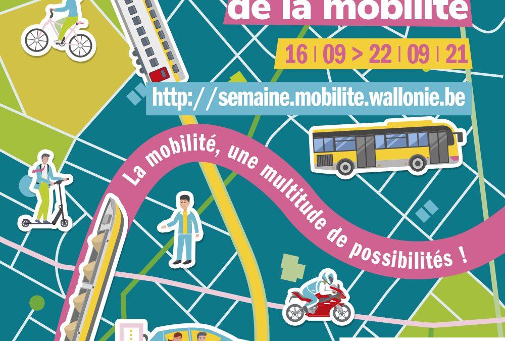 Semaine européenne de la mobilité du 16 au 12 septembre 2021